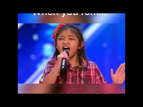 America's Got Talent - Angelica Hale - (Remix by Jesse Bloch) DEMO - full version in comments
