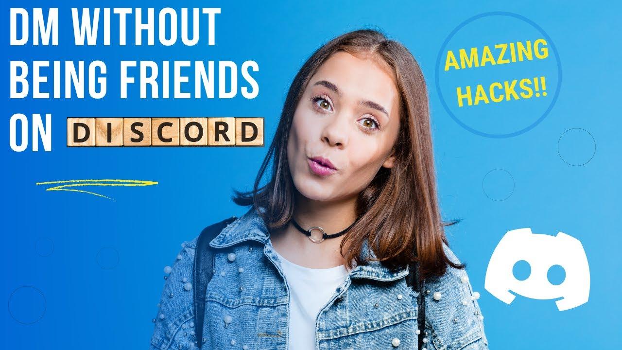 Как сообщить кому-то о Discord, не добавляя их?