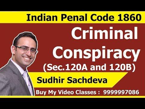 Criminal Conspiracy-Section 120A and 120B - IPC 1860- JIGL CS Executive