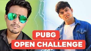 World Top Pubg Pro Player Prince chandra Open Challenge