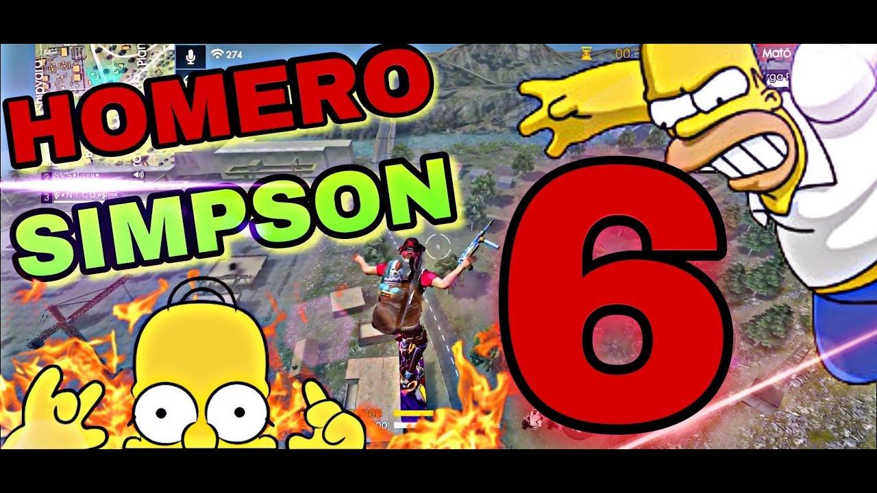 Homero Simpson Juega Free Fire #6❤️????