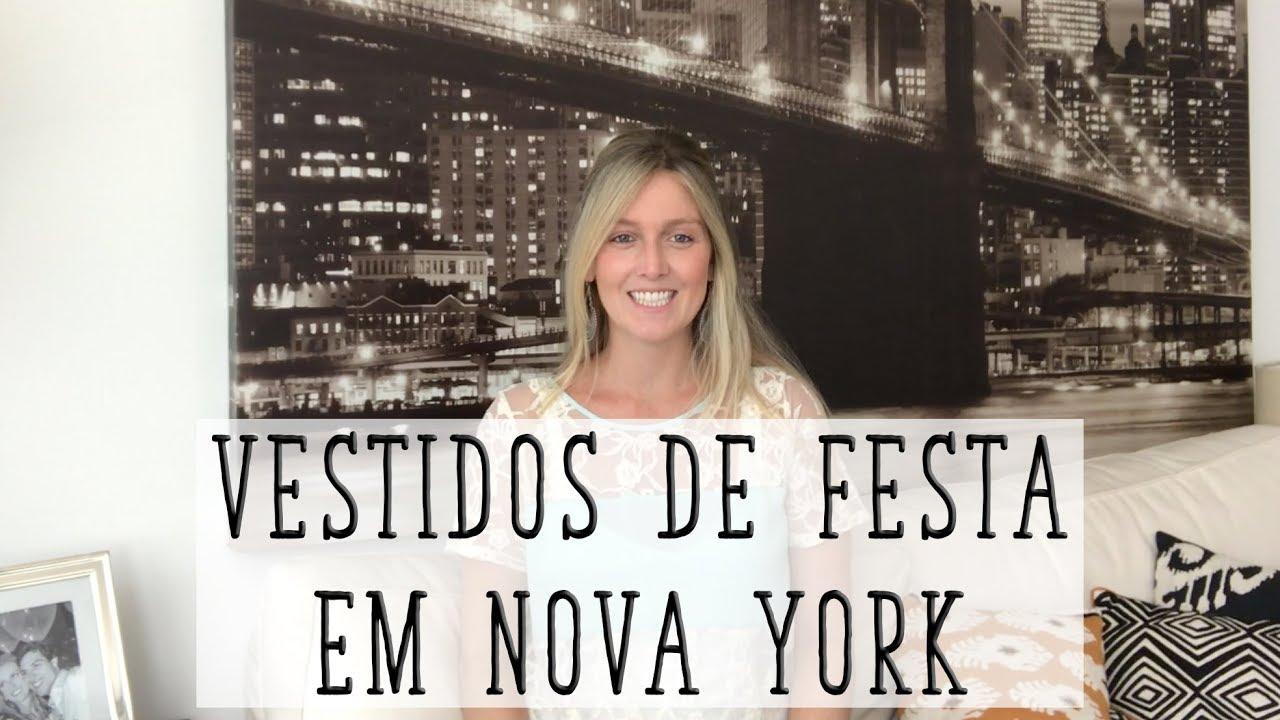 b2fe6ce86b60 ONDE COMPRAR VESTIDO DE FESTA EM NOVA YORK I NY - YouTube