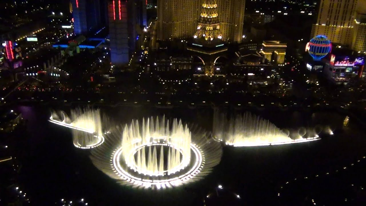 Bellagio fountains o holy night las vegas penthouse for Las vegas fountain