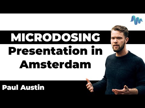 Microdosing Presentation in Amsterdam
