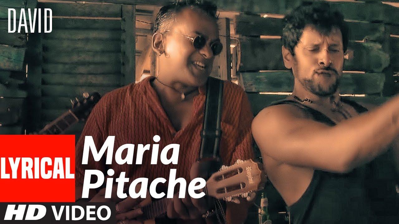 Maria Pitache Lyrical Video | David | Vikram, Isha Sharwani | Remo Fernandes