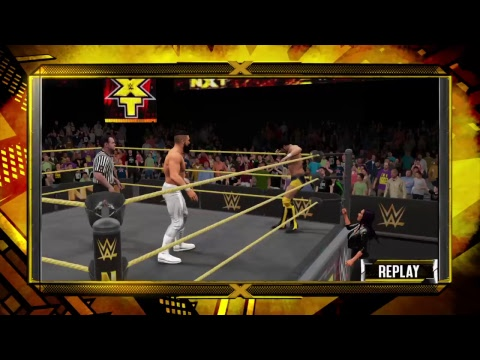 My WWE 2K17 Universe: WWE NXT (February.Week 4)