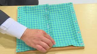 モンテッソーリ教具「着衣枠」の提示法がわかる紹介動画です。