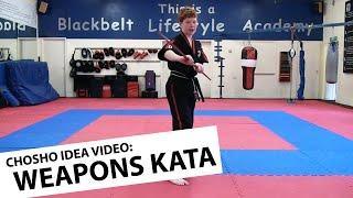 Chosho Idea Video: Example Weapons Kata (Bo Staff)
