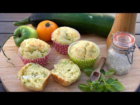 recette-des-muffins-salés-courgette-chèvre---william's-kitchen
