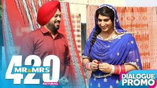 Comedy Scene - Mr & Mrs 420 Returns || Punjabi Movies 2018 || Lokdhun