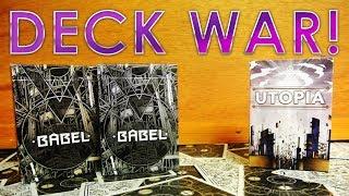 Deck War - Babel Decks VS Utopia Playing Cards [HD]