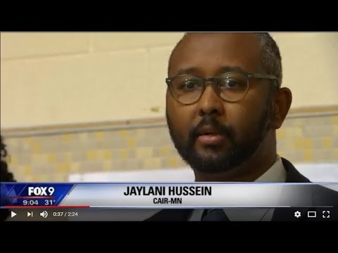 Video: CAIR-Minnesota Director Thanks FBI for Arrests in Terror Attack on Mosque