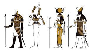 部屋が古代エジプトになるウォールシール