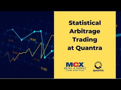 Statistical Arbitrage Trading at Quantra