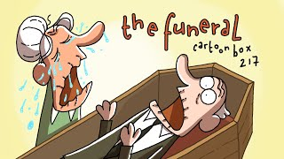 The Funeral | Cartoon Box 217 | Hilarious Funeral Cartoon | by FRAME ORDER