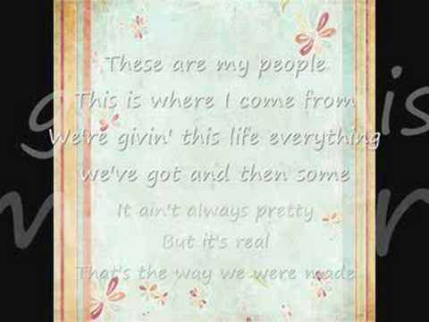 Rodney Atkins-These Are My People (Instrumental/W lyrics)