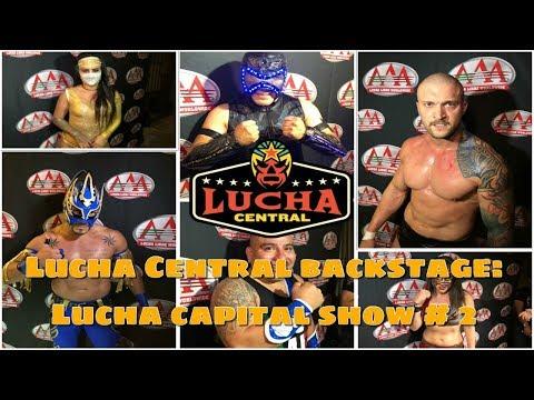 Backstage: Emocionante noche en el segundo show de Lucha Capital en el Pinche Gringo BBQ
