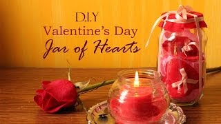 DIY Valentine's Day Jar of Hearts Gift Wrapping Idea | Martinuzzi Accessories Thumbnail