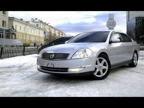 Second Test - Nissan Teana (НТВ Главная дорога - Секонд Тест)