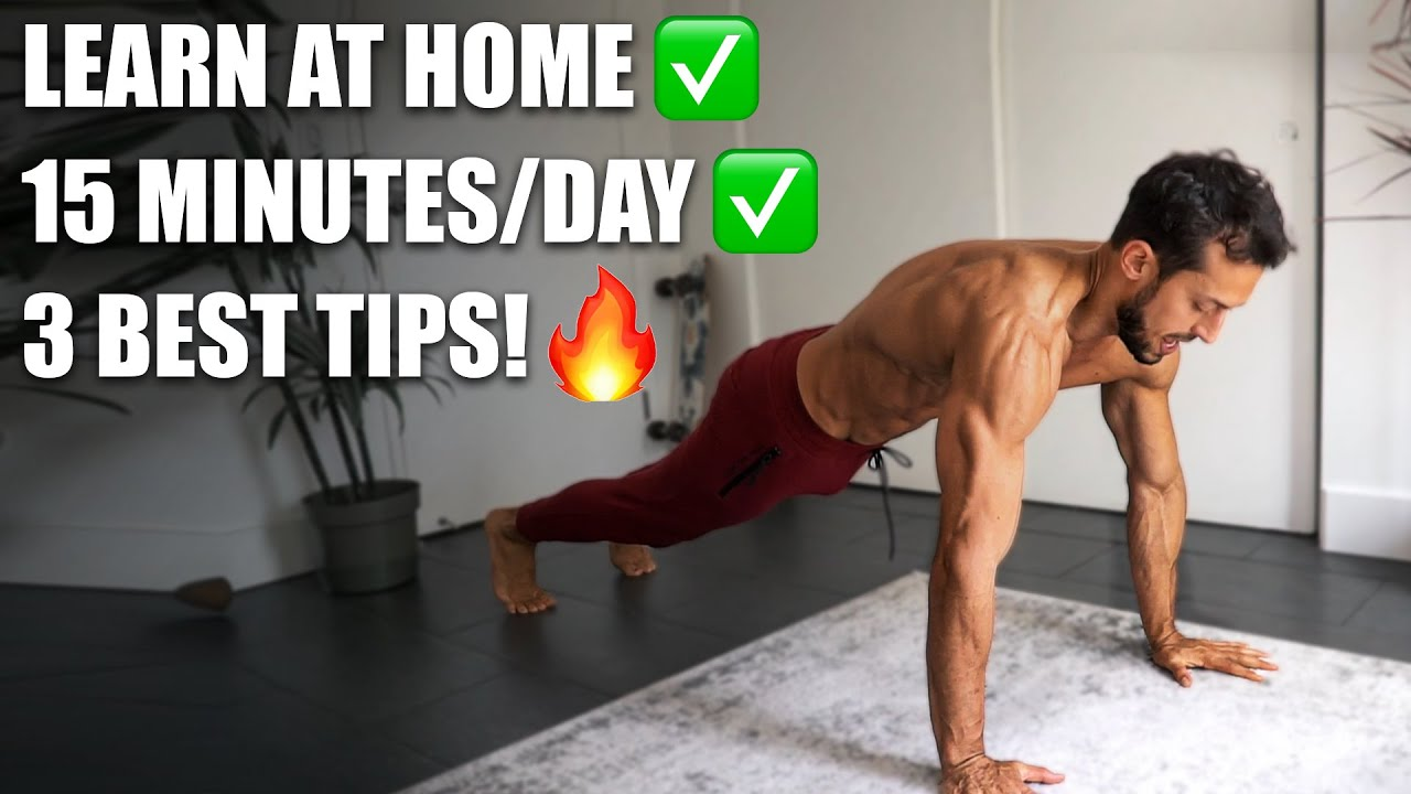 How To Start Calisthenics at Home for Beginners (No Equipment)