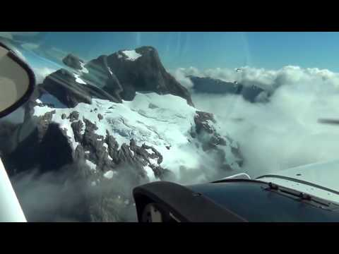 2012 Neuseeland, Flug ueber den Milford Sound