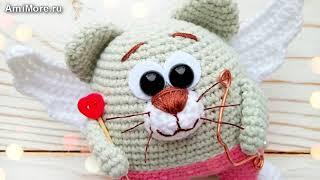 Амигуруми: схема Валькин кот. Игрушки вязаные крючком - Free crochet patterns.