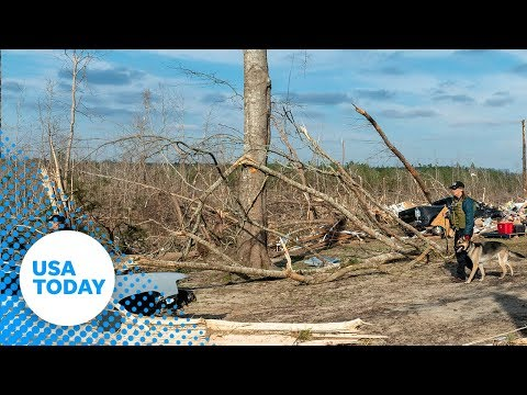Alabama tornado aftermath: At least 23 people were killed by a tornado in Lee County, Alabama.