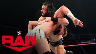 Zack Ryder vs. Drew McIntyre: Raw, Dec. 23, 2019