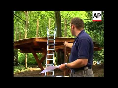 Tree house retreats grow in popularity in the United Kingdom