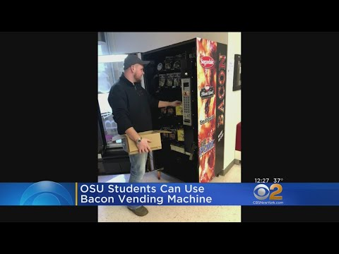 Chris Proctor - Bacon Dispenser At Ohio State University