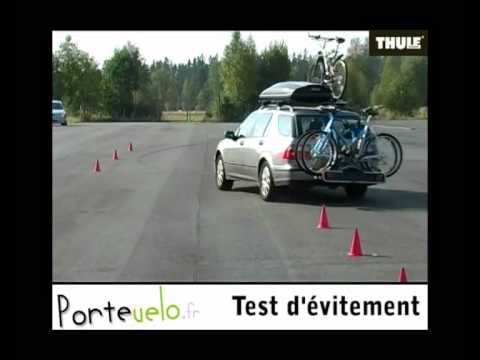 porte velo thule tests d 39 vitements youtube. Black Bedroom Furniture Sets. Home Design Ideas