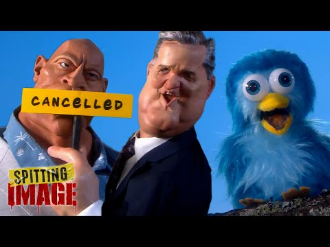 Piers Morgan, James Corden & Beyoncé Leave Twitter | Spitting Image