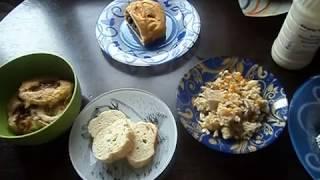 Завтрак,обед и ужин по системе минус 60:)