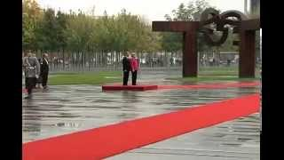 Arrival Honors at the Federal Chancellery 9/19/2014