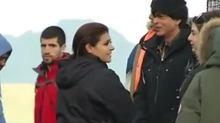 Inside Pics: Shah Rukh Khan, Kajol on Dilwale sets in Iceland | Song Making