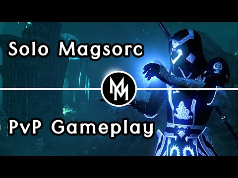 The BEST of PvP - ESO Magicka Sorcerer Solo PvP Gameplay [Blackwood] |
