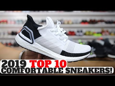 c8beed56c37 TOP 10 COMFORTABLE SNEAKERS IN 2019! Shop Reshoevn8r Sneaker Cleaner &  Products (use code HesKicks10 for 10% off!)  https://reshoevn8r.com/discount/ ...