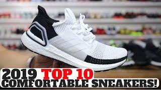 TOP 10 COMFORTABLE SNEAKERS IN 2019!