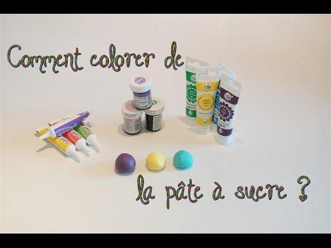 Comment colorer de la pâte à sucre ? | How to color the sugar paste ?