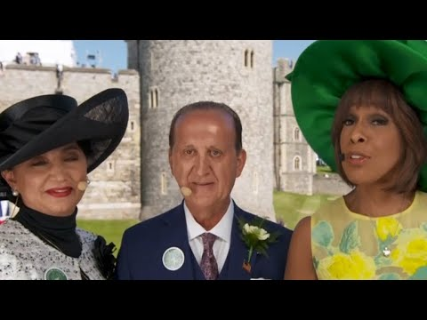 American couple attends royal wedding