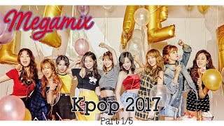 KPOP 2017 MEGAMIX | Kpop Playlists [재생 목록] 2017 댄스 80곡