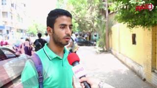 اتفرج| رضا عام بين طلاب الثانوية بعد امتحان اللغة الأجنبية الثانية