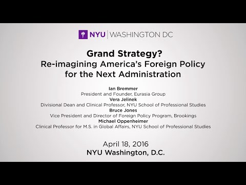 A Grand Strategy? Re-imagining America