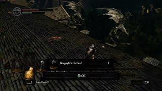 Dark Souls Gargoyle Halberd GET!
