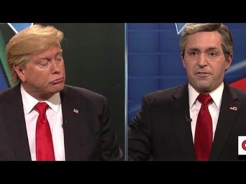 'SNL' lampoons CNN's Republican debate