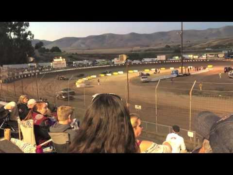 Jaryd Padgett #455 - Santa Maria Speedway - 6.17.16