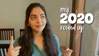 My 2020 round up | Hello 2021 | Ahaana Krishna