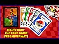 DIY Mario Kart the Card Game! Free game and giveaway!