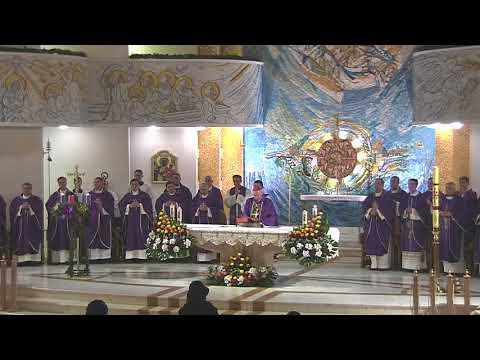 Iaşi (catedrală): Liturghia din ajunul sărbătorii fer. Anton Durcovici (9 decembrie 2017)