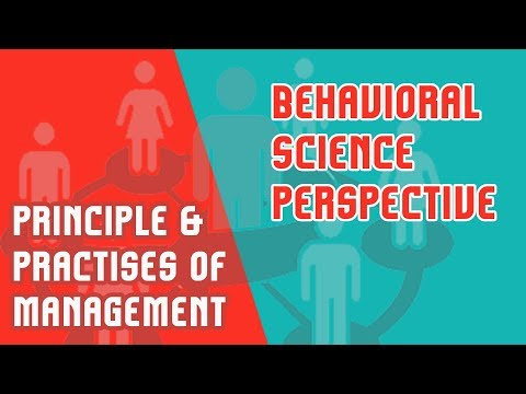 Behavioral Science Perspective | Abraham Maslow's Hierarchy Of Needs | PPM | Mod 2 | Part 5